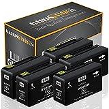 5X Druckerpatrone Komp. hp 950xl 950 XL Schwarz Black für HP Officejet Pro 8615