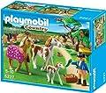 Granja: cuidadora con caballos de Playmobil (5227)