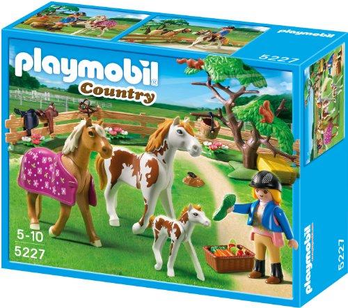 Preisvergleich Produktbild PLAYMOBIL 5227 - Pferdekoppel