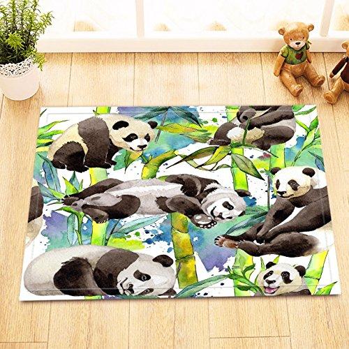 S&Y Pflaume und Libelle auf weißem Hintergrund, traditionellen Tuschemalerei gedruckt Badematte/Teppich, 40 & Zeiten ; 60 cm (Pflaume Zeitgenössische Teppich)