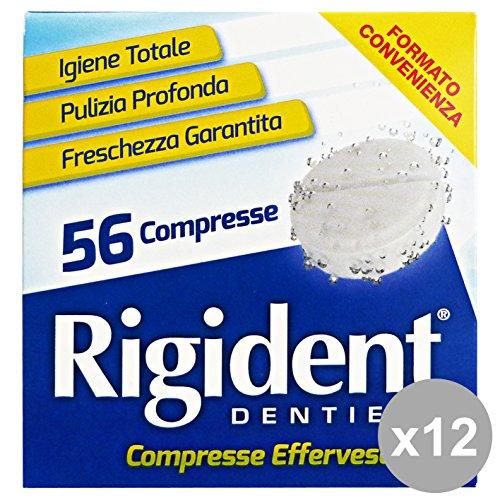 Set 12 RIGIDENT Compresse * 56 Pezzi Hautpflege