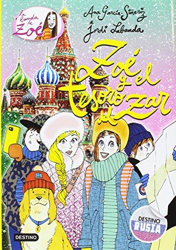 Portada del libro Zoé y el tesoro del zar: La banda de Zoé 15