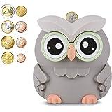 AMAGO Hucha Digital Owl, Linda Hucha para Niños, Niñas y Adultos, la Hucha con Mostrador para Niños en Navidad y cumpleaños