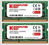 Komputerbay KB_8GB_2X4GBDDR3_SO1333_APPLE4 - Memoria RAM SODIMM