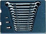 King Tony 910115MR - Llave de velocidad para carro de herramientas, conjunto de 15