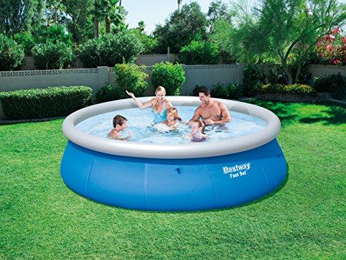 Bestway Fast Set Pool Ersatzteil, rund, blau, 396 x 84 cm