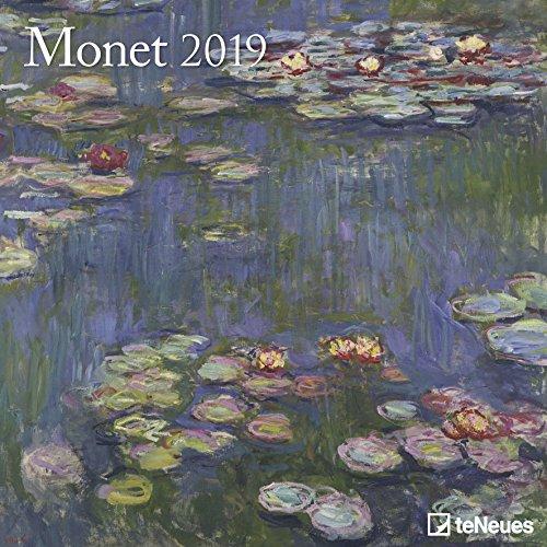 Monet 2019 - Kunstkalender, Broschürenkalender, Wandkalender, Impressionismus 2019  -  30 x 30 cm