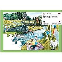 Frühlingsstrom - 35 Teile Puzzle Entworfen als Beschäftigung für Senioren mit Demenz / Alzheimer von Active Minds