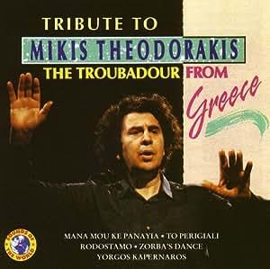 Tribute To Mikis Theodorakis The Troubadour From Greece
