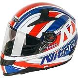 Nitro N2200Sterling DVS casco de moto