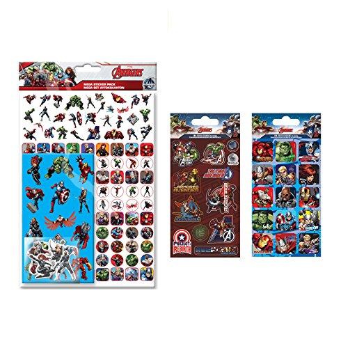 Marvel Los Vengadores adhesivo Bundle Pack
