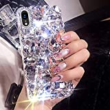 ONLYX00019 Custodia per iPhone XR, cover protettiva per iPhone XR, Surakey Luxus luccicante strass TPU cover in silicone