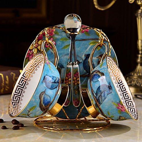 Eoco Tazza e piattino da caffè in in in ceramica Tazza in porcellana di lusso per feste di compleanno, tè pomeridiano, matrimoni e feste (Coloreee   2 sets) | Ammenda Di Lavorazione  | Promozioni  aa5d41