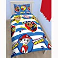 Paw Patrol Pawsome Single Duvet Cover Set produced by Courtleigh - quick delivery from UK.