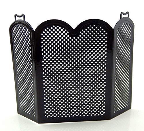 Melody Jane Casa Muñecas Fuego Negro Pantalla Miniatura 1:12 Escala Protector Accesorios Chimenea