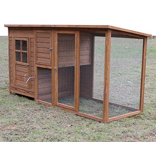"""Hühnerstall Hühnerhaus Chickenhouse Nr. 07 """"Gockelstolz"""" mit Eierbox und Freilauf - 2"""