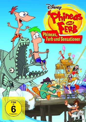 Phineas und Ferb - Phineas, Ferb und Sensationen - Monster-truck-dvd