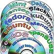Linux Diversity Newest 32-bit Collection, 12 DVDs Installation and Reference set includes: Ubuntu 17.04, Kubuntu 17.04, openSUSE 13.2, Fedora 25, Debian 8, CentOS 6, Mint 18, Gentoo 12, Mandriva 2011 and Slackware 14