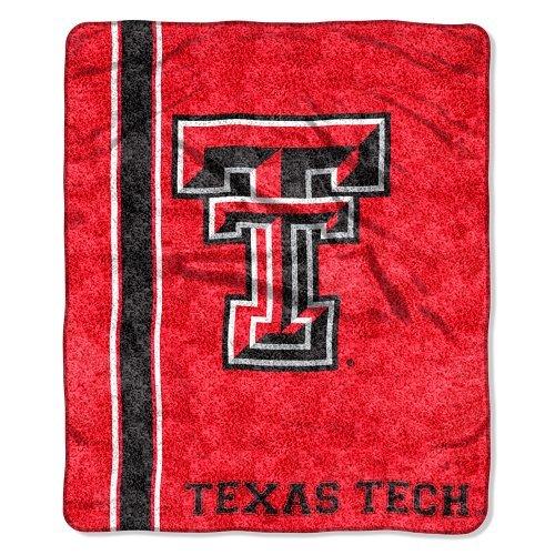 Northwest NCAA Texas Tech Rot Raiders 50-inch-by-60-inch Sherpa auf Sherpa Überwurf Decke Jersey Design University Of Texas-jersey