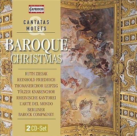 Baroque Christmas [Werner Ehrhardt, Hermann Max, Ruth Ziesak] [Capriccio: C5217]