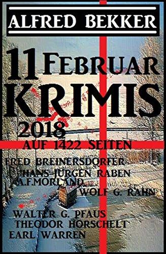 11 Februar Krimis auf 1422 Seiten