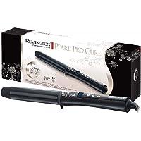 Remington Fer à Boucler, Boucleur XL 32mm Advanced Ceramic, Soin Eclats de Perles, Cheveux Brillants - CI9532 Pearl