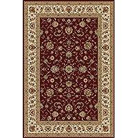 alfombra oriental clásica MARRAKECH ROJO 240 X 340
