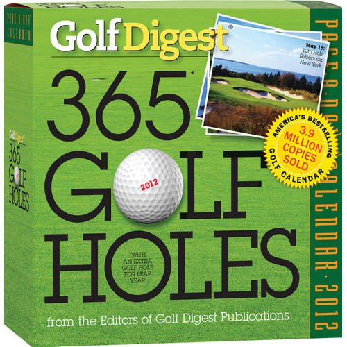 Golf Digest 365 Golf Holes 2012 Kalender