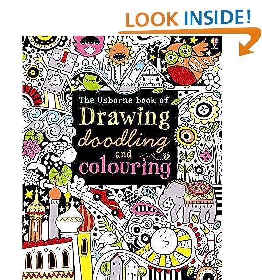Usborne Colouring Books: Amazon.co.uk