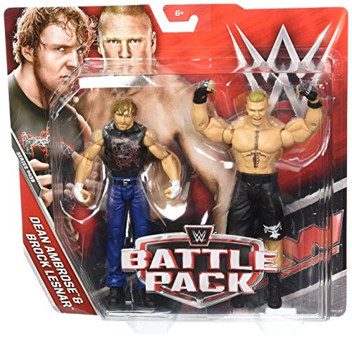 Figur WWE Battle Pack Dean Ambrose & Brock Lesnar -