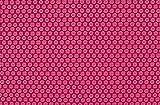 Baumwolle Blümchen pink (10 cm)