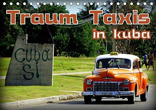 Traum Taxis in Kuba (Tischkalender 2019 DIN A5 quer): Oldtimer Taxis in Havanna und Santa Maria del Mar (Monatskalender, 14 Seiten) (CALVENDO Mobilitaet) - Santas Oldtimer