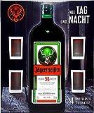 Jägermeister Kräuterlikör 1,75L (35% Vol) + 4x Weiße Shotgläser 2cl geeicht