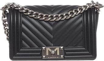 Marc Ellis Borsa flat S tracolla black/old silver