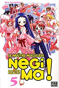 Negima ! Le Maître Magicien Edition simple Tome 5