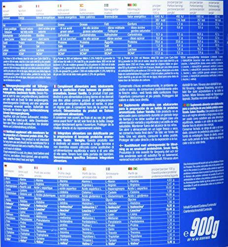 Body Attack 100% Whey Protein, Vanille, 1er Pack (1x 900g)