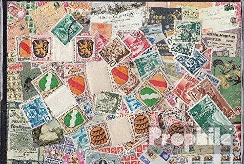 Prophila Collection Alliierte Besetzung in Deutschland 100 verschiedene Marken Französische Zone nach dem 2. Weltkrieg (Briefmarken für Sammler)
