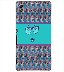 PrintDhaba Specy Face D-4264 Back Case Cover for SONY XPERIA Z4 (Multi-Coloured)