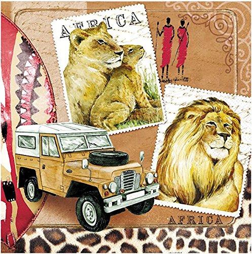 20servilletas-33x-33cm-frica-romantik-masi-safari-len-tiger-jeep-zebra