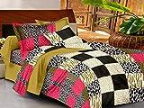 Casa Basics Ezy colección Animal Print algodón sábana con 2fundas de almohada