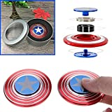 Captain America Alloy Fidget Hand Spinner Toy