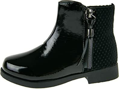 Buckle My Shoe Bottines en cuir synth/étique pour filles.