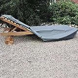 Siena Garden 542298 Rollliegenhülle anthrazit Polyestergewebe Oxford 600 D / L 212 x B 70 x H 40 cm
