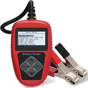 Quicklynks Ba101 Batterie Tester Fahrzeugbatterie Tester 12 V Kleinste Einstellbare Kapazität 30ah 220ah Auto