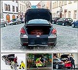 Kofferraumschutzdecke SPACECOVER® (schwarz) zum Schutz vor Verschmutzung der Bekleidung - perfektes Geschenk für Sie und ihn!. Schützt zuversichtlich der hintere Stoßfänger Ihres Wagens. Mit der Kofferraummatte SPACECOVER® bleibt hinterer Stoßfänger Ihres Wagens ohne Kratzer und wird immer wie neu aussehen. Ist wasserdicht und ausgestattet mit einer sehr einfach abwaschbarer Oberfläche. Dimensionen 87 x 70cm (Breite x Länge).