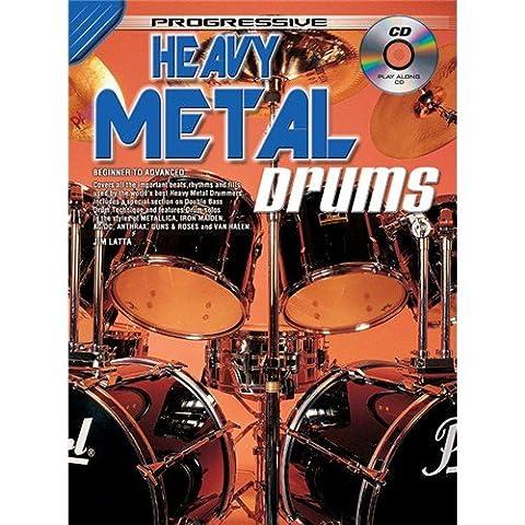 Progressive: Heavy Metal Drumming (Book/CD). Sheet Music, CD for Drums