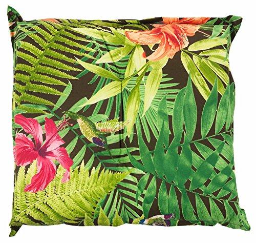 Hockerauflage Sitzpolster Gartenhockerauflage BENIGNUS 2 | 50 x 50 cm | Mehrfarbig | Baumwolle |...
