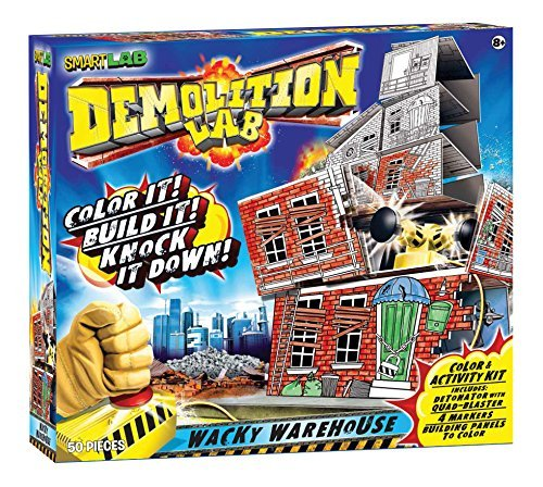 Smartlab Toys Demolition Lab: Wacky Warehouse by Smart Lab