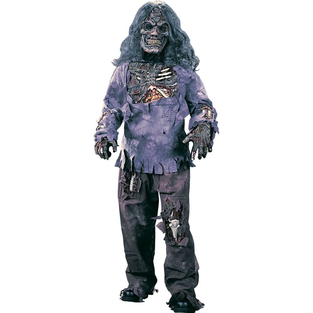 CHILD BOYS ZOMBIE COMPLETE AGE 4-6 HALLOWEEN FANCY DRESS COSTUME ...