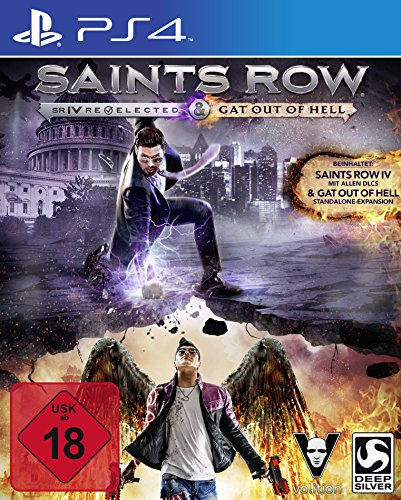 Saints Row IV Re-elected + Gat Out of Hell (PS4)